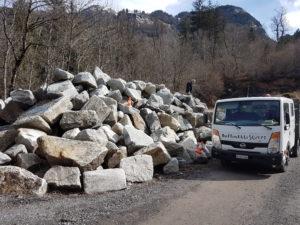 Grimsel Granit Steinbruch im Kanton Bern mit Felice
