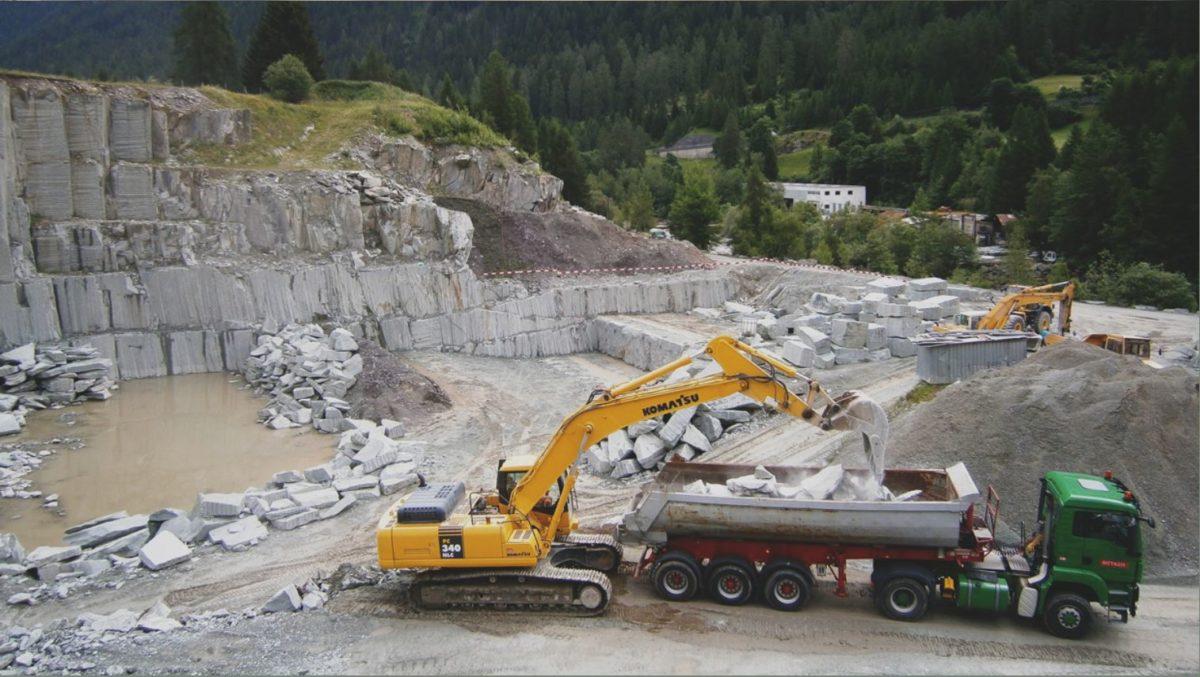 Graubünden Andeer Steinbruch
