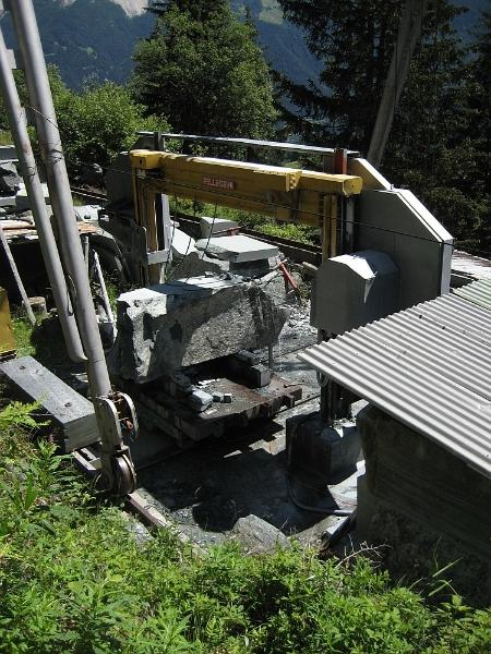 Graubünden Poschiavo Steinbruch