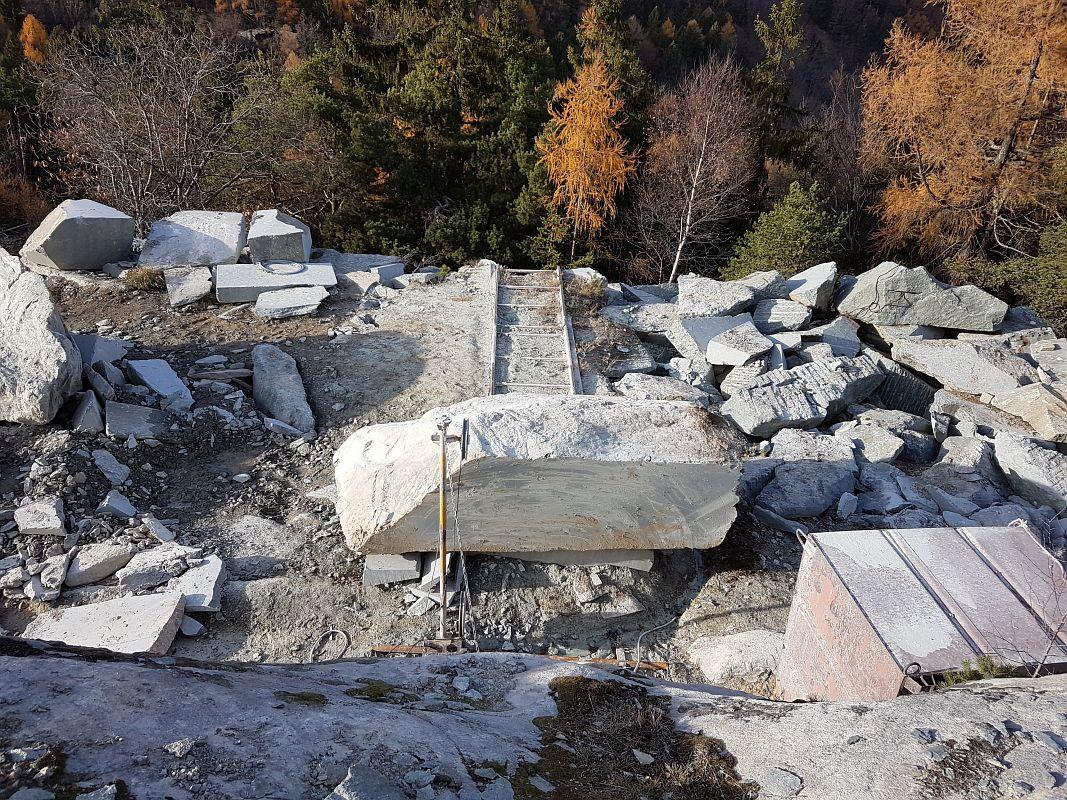 Steinbruch Salvan