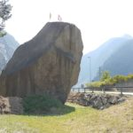 Uri Gotthard Pass Teufelsstein